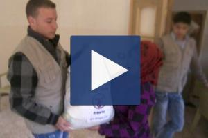 Zakat Foundation of America - 2012 Syrian Crisis Relief - Food Distribution