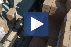 Zakat Foundation of America - ZF Distributing Food Packages Inside Syria